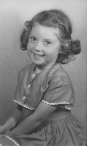 Posing in 1954